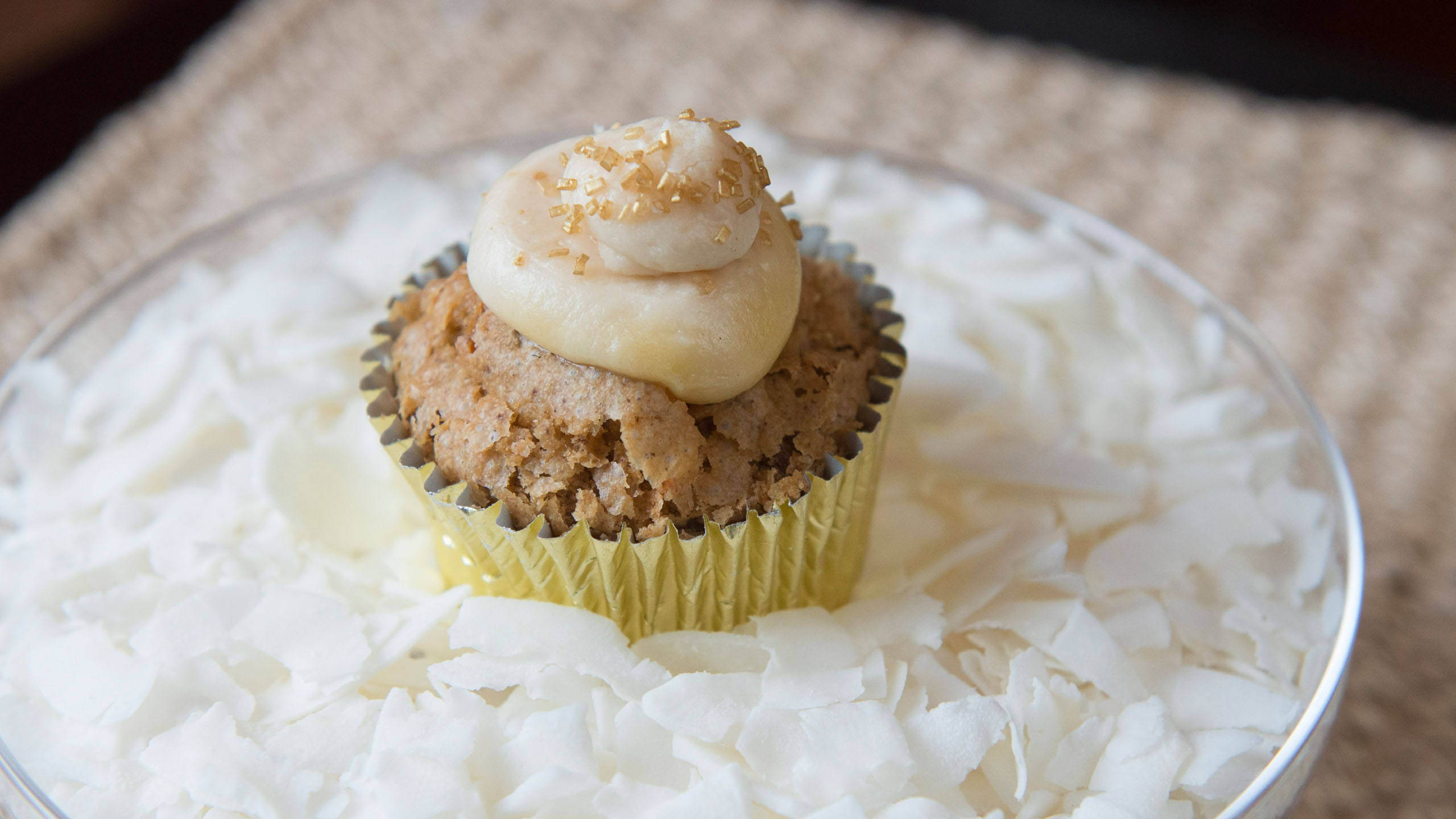 Moist and Delicious Pineapple-Coconut Carrot Cupcake